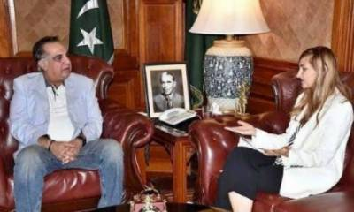 اطالوی قونصل جنرل ،گورنر سندھ کا شعبہ سیاحت میں سرمایہ کاری کےفروغ پرتبادلہ خیال