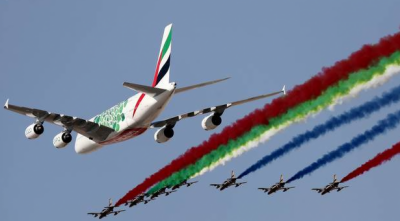 امارات ایئرلائن 16 ارب ڈالر کے 50 ایئربس طیارے خریدے گی