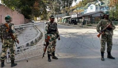 مقبوضہ کشمیر: بھارتی فوجی محاصرہ جاری رہنے کے باعث لوگوں کو بدستور مشکلات کا سامنا