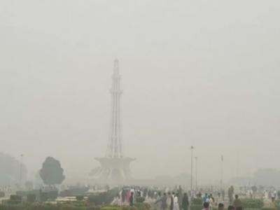 لاہور میں اسموگ کا راج