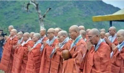 جنوبی کوریا سے بدھ مت کے مذہبی پیشواوں کا دورہ خیبر پختون خوا