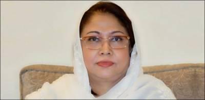 الیکشن کمیشن نے نااہلی کی درخواست پر فریال تالپور کو نوٹس جاری کر دیا