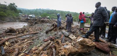 کینیا میں شدید بارشوں، سیلاب اور مٹی کے تودے گرنے سے 60افراد ہلاک