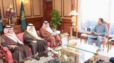 وزیراعظم سے سعودی شہزادہ سلطان بن سلمان کی ملاقات، دو طرفہ تعلقات کے فروغ پر گفتگو