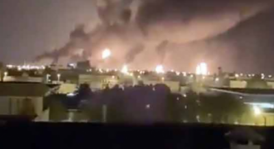 سعودی عرب میں آرامکو آئل فیلڈ پر حملے، ایران ملوث، خبر ایجنسی کا دعویٰ