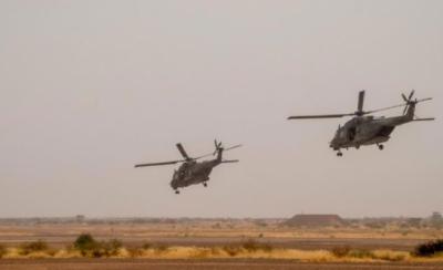 مالی میں 2 ہیلی کاپٹر ٹکرانے سے 13 فرانسیسی فوجی ہلاک ہوگئے
