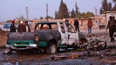 شام میں ترکی کے زیر قبضہ علاقے میں کار بم دھماکا ، 17 افراد ہلاک، 20 زخمی