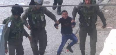 اسرائیلی فوج نے 4سال کے دوران 55 سو فلسطینی بچے گرفتار کئے