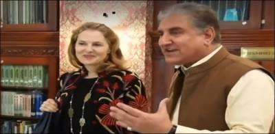 وزیر خارجہ شاہ محمود قریشی سے اردن کی شہزادی کی ملاقات