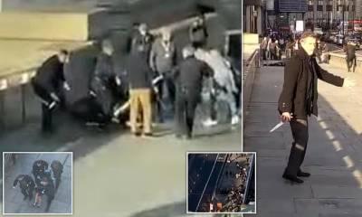 لندن : چاقو کے وار کر کے دو افراد کو ہلاک کرنے والےدہشتگرد حملہ آور کی شناخت ہوگئی۔