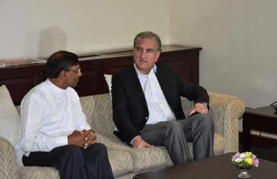 وزیر خارجہ شاہ محمود قریشی سری لنکا کے صدر، وزیراعظم اور ہم منصب سے علیحدہ علیحدہ ملاقاتیں کریں گے