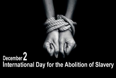 غلامی کے خاتمے کاعالمی دن آج منایاجارہاہے