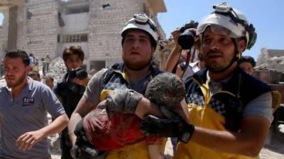 شام میں تازہ حملوں میں 8 بچوں کی موت