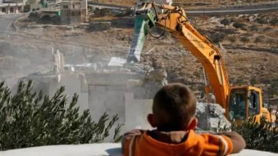 دو ہفتوں میں اسرائیلی فوج کے ہاتھوں 39 فلسطینی املاک مسمار
