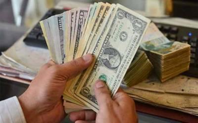 انٹر بینک میں ڈالر کی قیمت میں 8 پیسے مزید کمی