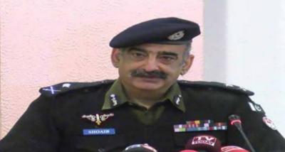 آئی جی پنجاب شعیب دستگیر نے پاکستان کے پہلے پولیس ویب ٹی وی کا افتتاح کردیا