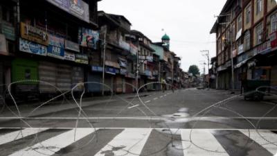 مقبوضہ کشمیر میں بھارتی فوجی محاصرہ آج 124ویں روز بھی جاری