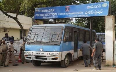 بھارت:خاتون کی اجتماعی عصمت دری اور قتل واقعہ،چاروں ملزم انکاونٹر میں ہلاک