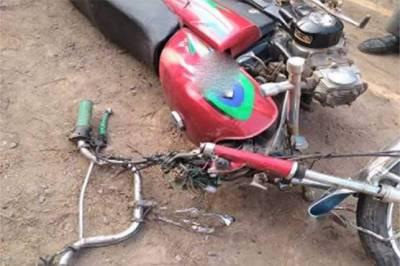 بھکر: گاڑی کی موٹرسائیکل کو ٹکر ،2افراد جاں بحق