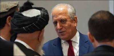 افغام امن عمل: زلمے خلیل زاد قطر پہنچ گئے