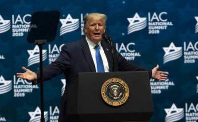 اسرائیل کا بہترین دوست ہوں:امریکی صدرٹرمپ