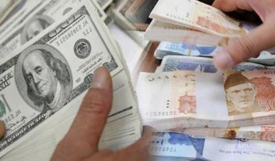 انٹر بینک : ڈالر کی قیمت میں 15 پیسے کمی