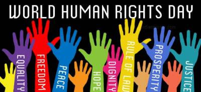 آج دنیابھرمیں انسانی حقوق کاعالمی دن منایاجارہاہے