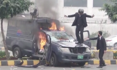 وکلا کا پنجاب انسٹی ٹیوٹ آف کارڈیالوجی پر حملہ، توڑ پھوڑ ، مریض جاںبحق