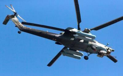 روس میں ہیلی کاپٹر گر کر تباہ،2 پائلٹ ہلاک