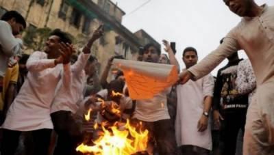 مسلم مخالف متنازع بل کے خلاف بھارت میں پر تشدد مظاہرے، 6 افراد ہلاک