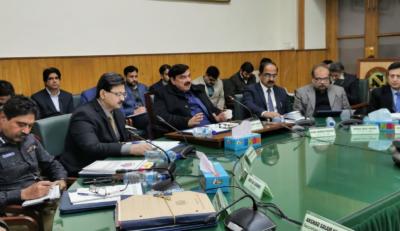 ریلوے کے وزیر شیخ رشید احمد کی ریلوے ہیڈ کوارٹرز لاہور میں اعلی سطح کے اجلاس کی صدارت