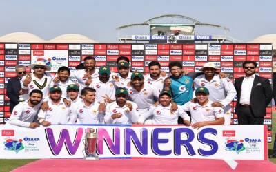 چیئرمین سینیٹ کی پاکستان کرکٹ ٹیم کو سری لنکا کے خلاف ٹیسٹ سیریز جیتنے پر مبارکباد
