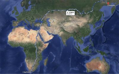 پیدل چلنے کے قابل دنیا کا سب سے طویل راستہ 23 ہزار کلومیٹر