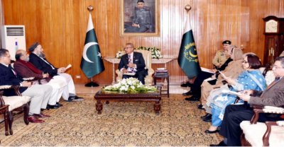 صدر کا سماجی مسائل کے حل کیلئے مساجد اور علماء کے موثر کردار کی ضرورت پر زور