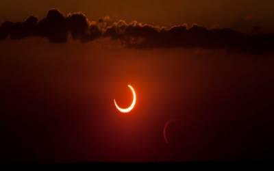 کل صبح 7.34منٹ پر سورج گرہین ہو گا۔