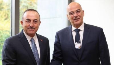 ترک وزیر خارجہ کی یونانی وزیر خارجہ سے ٹیلی فونک بات چیت