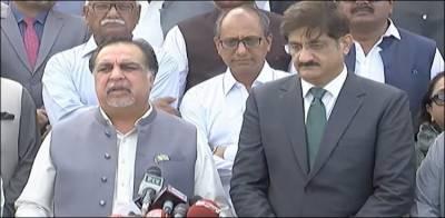گورنر سندھ اور وزیر اعلیٰ کی مزار قائد پر حاضری