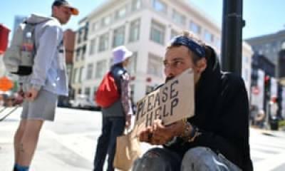 دنیا کے طاقت ور ترین ملک ا مریکہ میں بے گھر افراد کی تعداد میں مسلسل اضافہ