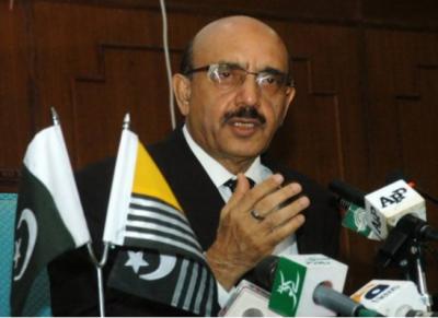 سردار مسعود کی کنٹرول لائن میں جنگ بندی کی بلااشتعال بھارتی خلاف ورزیوں کی شدید مذمت