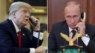 ناراضگی کے باوجود روسی صدر کا امریکی صدر کو ٹیلی فون