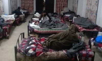 پنجاب انتظامیہ بے گھر افراد کی مدد میں مصروف عمل