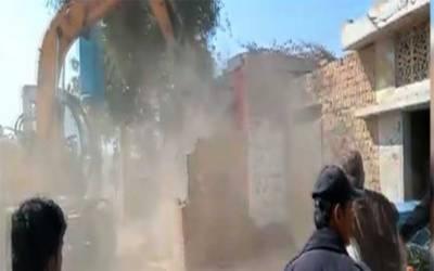 سندھ بھر میں تجاوزات کیخلاف گرینڈ آپریشن ، 10ایکٹر سرکاری زمین واگزار کرا لی گئی