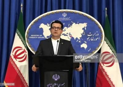 ایران کی بغداد میں مظاہروں کا الزام تہران پرلگانے پرامریکہ کی مذمت