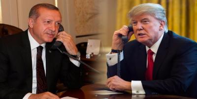 ترک صدر اور امریکی صدر کے درمیان لیبیا کی صورتحال پر تبادلہ خیال