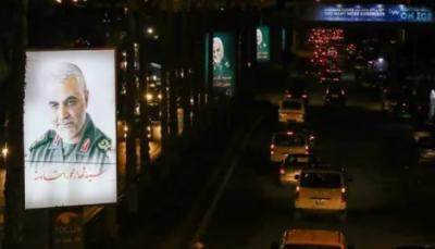 بیروت کی شاہراؤں پر قاسم سلیمانی کے تصویری پوسٹروں کی بھرمار