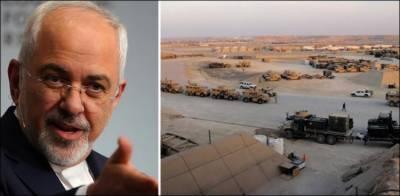 اس فوجی اڈے کو نشانہ بنایا جہاں سے ہمارے سینئر حکام پر حملہ ہوا: جواد ظریف