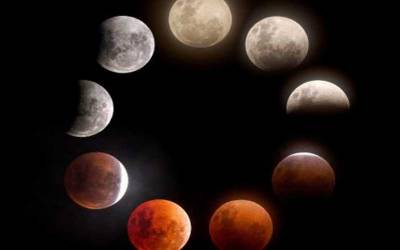 پاکستان سمیت دنیا بھر میں 2020 کا پہلا چاند گرہن آج رات ہوگا۔