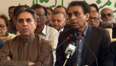 خالد مقبول نے ایک خاتون کی وزارت میں مداخلت پر استعفیٰ دیا