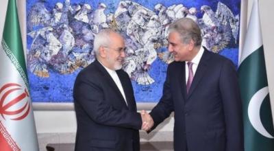 وزیر خارجہ شاہ محمود قریشی نے ایرانی ہم منصب جواد ظریف سے ملاقات