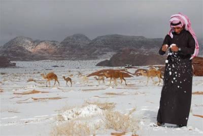 سعودی عرب، سردی کی لہر رواں ہفتے برقرار رہے گی